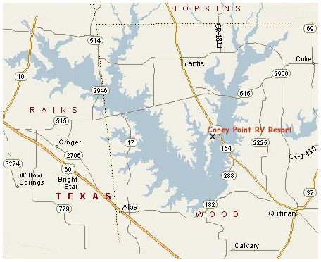 lake fork texas map About Lake Fork Texas And Location Map Of Caney Point Rv Resort lake fork texas map
