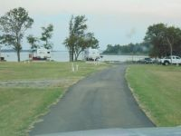 RV park has paved roads through-out