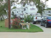 Lake Fork water front rv park large lot